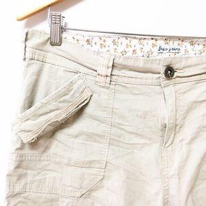 2/$15 ✨ SUKO Jeans Cargo Capris